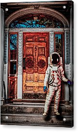Wrong Address Acrylic Print by Bob Orsillo