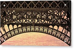 Wrought Iron Art Acrylic Print by JAMART Photography
