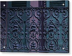 Wrought Iron Railings Acrylic Print