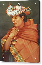 Ws1979bo005potosi Nicolaza 14x20 Acrylic Print by Alfredo Da Silva
