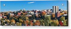 Wsu Autumn Panorama Acrylic Print