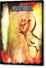 Wulfskull #2 Acrylic Print