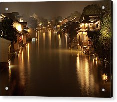 Wuzhen - Venice Of The Far East Acrylic Print by Andrew Soundarajan