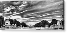 Ww Two Memorial Acrylic Print by JC Findley
