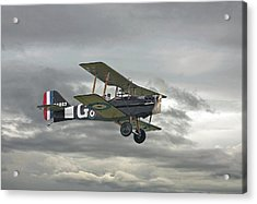 Ww1 - Icon Se5 Acrylic Print by Pat Speirs