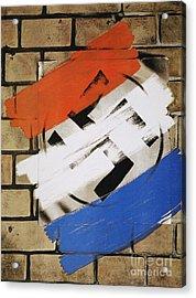 Wwii: Anti-nazi Poster, 1944 Acrylic Print by Granger