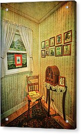Acrylic Print featuring the photograph Wwii Era Room by Lewis Mann