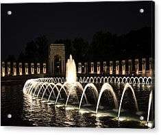 Wwii Memorial Acrylic Print