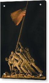 Iwo Jima Remembrance Acrylic Print
