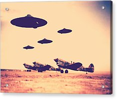Wwii What If Acrylic Print by Raphael Terra