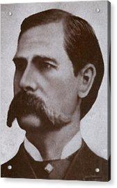 Wyatt Earp 1848-1929, Legendary Western Acrylic Print by Everett