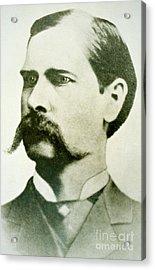 Wyatt Earp Acrylic Print by American School