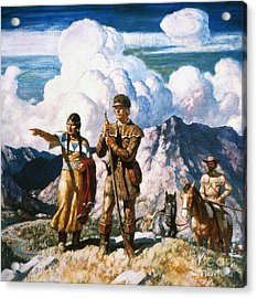 Wyeth: Sacajawea Acrylic Print by Granger