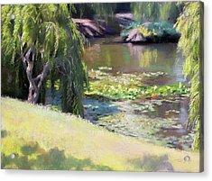 Wynberg Lily Pond Acrylic Print