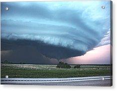 Wynnewood Tornado Acrylic Print