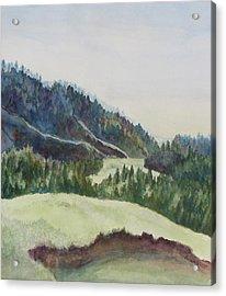 Wyoming Glow Acrylic Print by Jenny Armitage