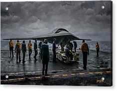 X-47b Uav  Acrylic Print