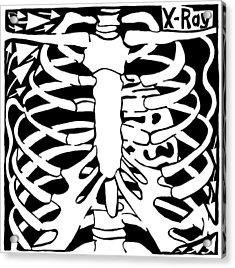 X-ray Maze Acrylic Print by Yonatan Frimer Maze Artist