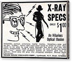 X-ray Specs $1.00 Acrylic Print