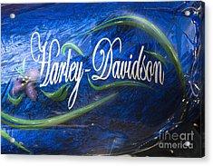 Harley Davidson 2 Acrylic Print