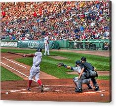 Xander Bogaerts - Boston Red Sox Acrylic Print