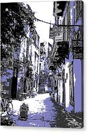 Xania Street Acrylic Print