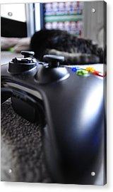 Xbox 360  Acrylic Print by Brynn Ditsche