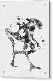 Xenomorph Acrylic Print by Rebecca Jenkins