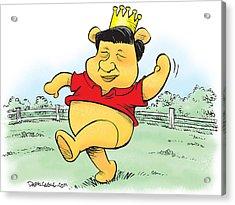 Xi The Pooh Acrylic Print
