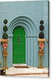 Xmas Door Acrylic Print