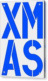 Xmas Acrylic Print