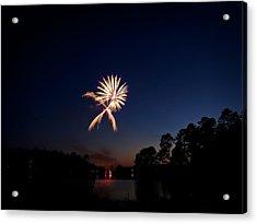 Xo Firework Acrylic Print