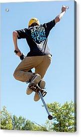 Xpogo Stunt Team Acrylic Print