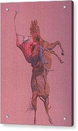 Yaa Hoooo Acrylic Print by Dan Hausel