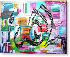 Yaallah Painting Acrylic Print