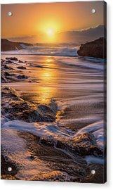 Acrylic Print featuring the photograph Yachats' Sun by Darren White