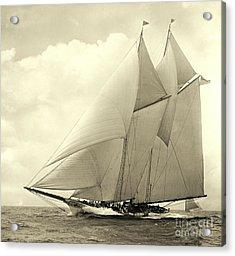 Yacht America 1910 Acrylic Print