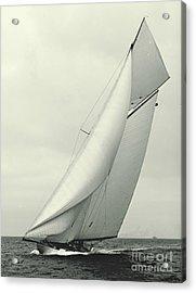 Yacht Columbia 1901 Acrylic Print