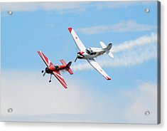 Yak 55 And Yak 18 Acrylic Print by Larry Keahey