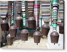 Acrylic Print featuring the photograph Yak Bells by Scott Kemper