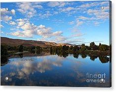 Yakima River Mirror Acrylic Print