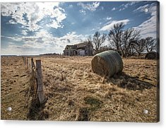Acrylic Print featuring the photograph Yale by Aaron J Groen