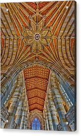 Acrylic Print featuring the photograph Yale University Sterling Library by Susan Candelario