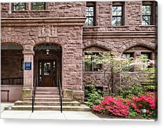 Acrylic Print featuring the photograph Yale University Warner House by Susan Candelario