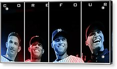 Yankee Core Four By Gbs Acrylic Print