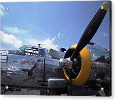 Yankee Raider B-25  Acrylic Print by Don Struke