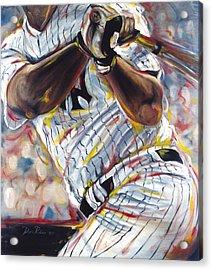 Yankee Acrylic Print by Redlime Art