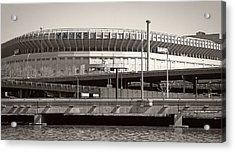 Yankee Stadium    1923  -  2008 Acrylic Print by Daniel Hagerman