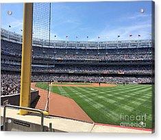 Yankee Stadium_right Field1 Acrylic Print by All Island Promos