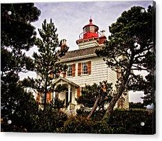Yaquina Bay Lighthouse Two Acrylic Print